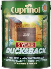Cuprinol Ducksback 5L - Harvest Brown